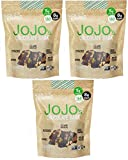 JOJO's- Dark Chocolate Bark With All Natural Protein Raw Nuts and Fruit, NON-GMO, Gluten Free, Paleo Friendly, 1.2 Ounce Bars, 21 Count(Three Week Supply- 25 oz) Review