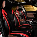 YAOHAOHAO Car leather seat cushion, leather car seat covers for most vehicles