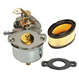 8hp tecumseh air cleaner - HIFROM 631793 631440 Carburetor Carb Kit With 33268 33263 Air Filter Gasket for Tecumseh H70 H80 7HP 8HP 9HP Snow Blower