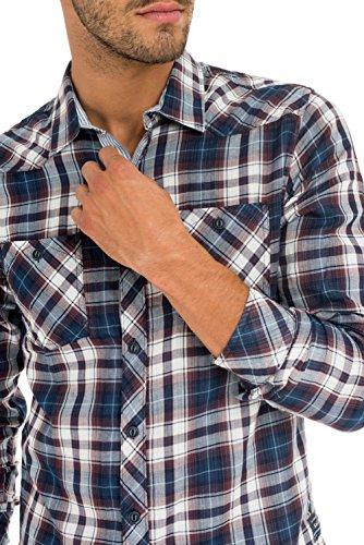 Salsa - Chemise à carreaux doubles - Homme