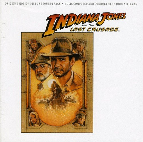 CD : Soundtrack - INDIANA JONES & THE LAST CRUSADE - Indiana Jones & The Last Crusade (United Kingdom - Import)