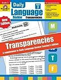 Daily Language Review Transparencies, Grade 3, Evan-Moor, 159673924X