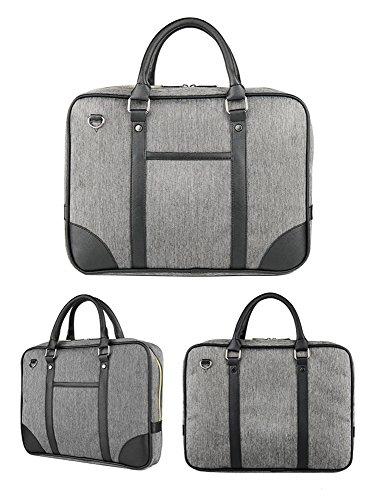 5 All Unisex klassische Mehrfunktionale Oxford Business Tasche Laptoptasche Henkeltasche Umhängetasche Schultertasche für Büro Business Arbeit Reise