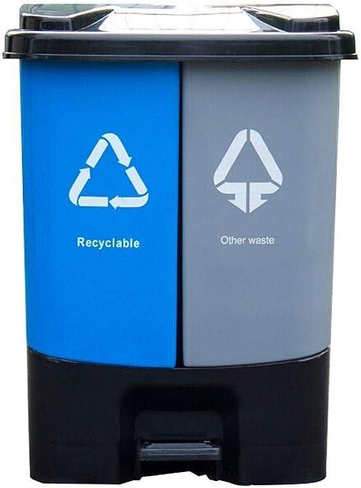 Basurero Cubo de Cocina Cubo de basura al aire libre clasificado ...