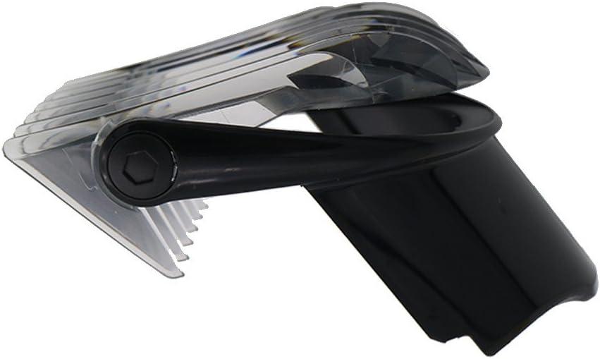 Peine Guia para Philips Recambio Maquina Pelo Cortapelo, Professional Maquinilla Cabezales for Philips QC5010 QC5050 QC5053 QC5070 QC5090, 3-21 mm