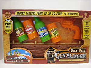 Wild West Gunslinger Electronic Target Shooting Set by Dragon-i Toys
