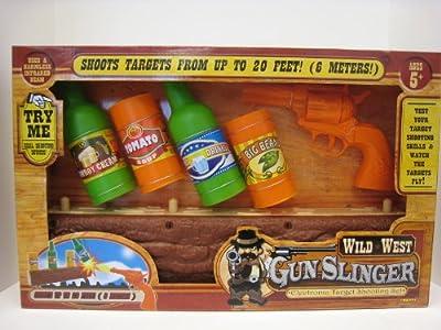 Wild West Gunslinger Electronic Target Shooting Set by Dragon-i Toys ...