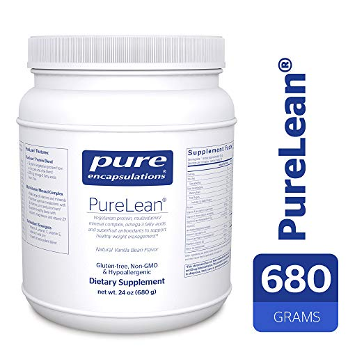 Pure Encapsulations - PureLean - Vegetarian Protein for Healthy Weight Management** - Natural Vanilla Bean Flavor - 680 ()