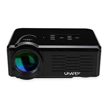 Uhappy BL35 - Mini LED LCD proyector multimedia Home Cinema ...