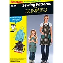 Simplicity Sewing Pattern 2824 Aprons, A (Small - Medium - Large)