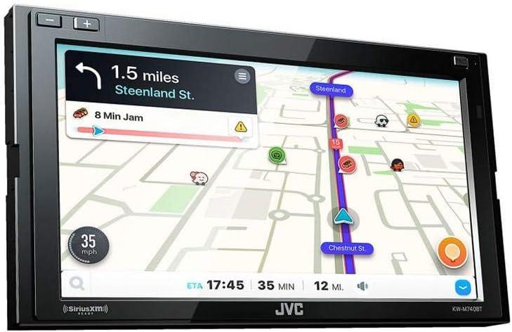 JVC KW-M740BT Apple CarPlay No CD Drive Android Auto 2-DIN AV Receiver