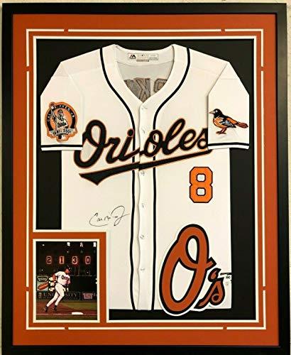 - Framed Baltimore Orioles Cal Ripken Jr Autographed Signed Jersey Memorabilia JSA