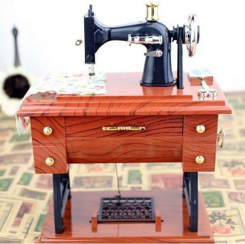 uchic 1 pieza Retro creativa de la novedad mini máquina de coser ...