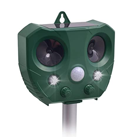 b6941f945cec Pronghorn Solar Animal Repellent Ultrasonic Pest Repeller Electronic Dog  Deterrent Outdoor Pest Control for Cat Rodent