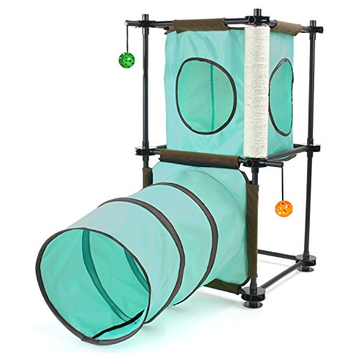 Kitty City Steel Claw Passage Cat Furniture (Kitty Playground)