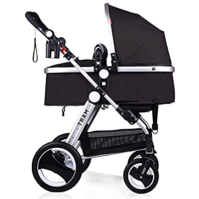 Babyroues Newborn to Toddler Baby Stroller – Full Size Luxury Carriage - Infant Bassinet, Reversible Seat, Lightweight Aluminum Frame, Easy Compact Fold, All Terrain wheels by BABYROUÉS that we recomend personally.