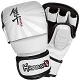 Hayabusa Ikusa – Charged 7oz guantes híbridos – negro