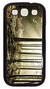 top covers Sunbeams Forest PC Black case/cover for Samsung Galaxy S3 I9300