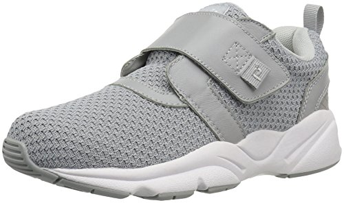 Propét Women's Stability X Strap Sneaker, Light Grey
