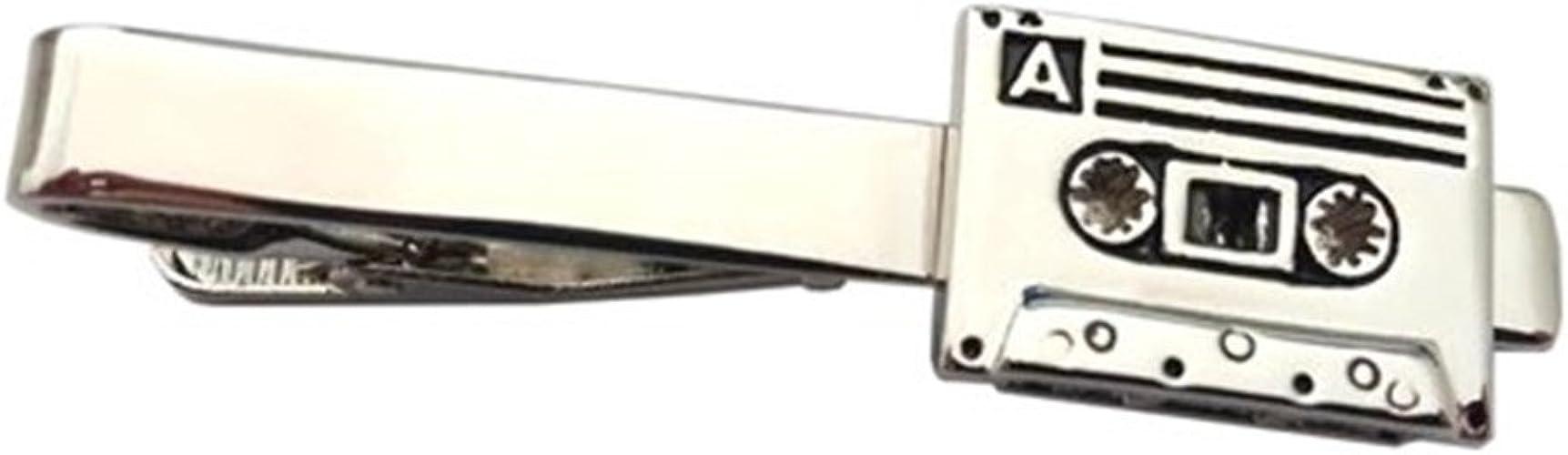 Caja de reproductor de casete Dj música músico Clip de corbata ...
