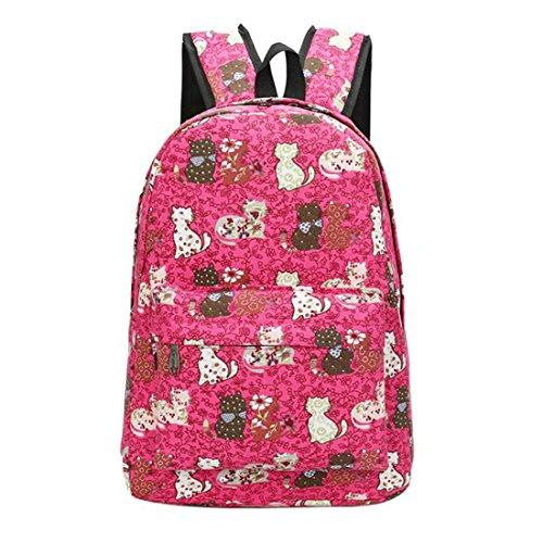 02 06 Women Graffiti Backpack Soft Backpack Girls Mochila Canvas Floral Print Travel Unisex Schoolbag Bag Backpacks Korean Shoulder RaTA1aB