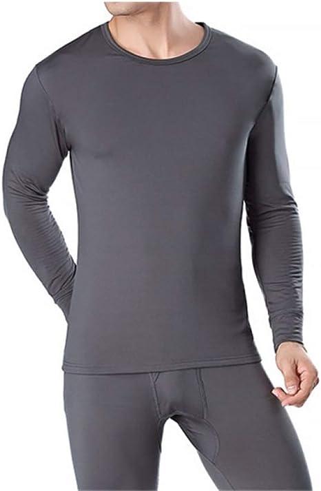 FENTINAYA Thermo Underwear Men Elastic Tight Long Johns Thin Basic Fitness Calzoncillos y Camisetas para Mujer Conjuntos: Amazon.es: Deportes y aire libre