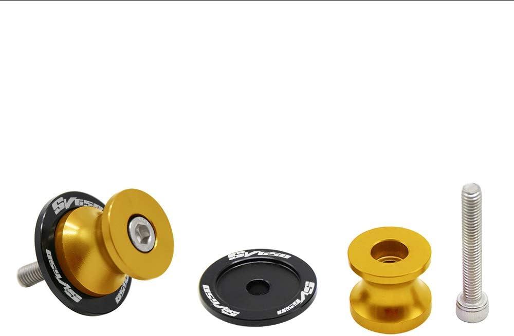 2pcs Nottolini M8*1,5 Forcellone Cavalletto Appoggi Per SUZUKI SV650 SV 650 SV650S SV650A SV650X-Rosso
