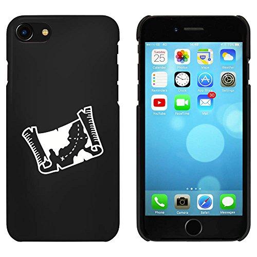 Noir 'Carte au Trésor' étui / housse pour iPhone 7 (MC00088092)