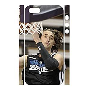 Cool Designer Hipster Physical Game Basketball Athlete Print Phone Shell Skin for Iphone 5 5s Case