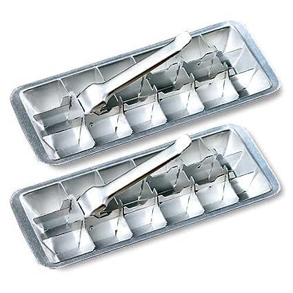 Miles Kimball bandeja para cubitos de hielo de aluminio