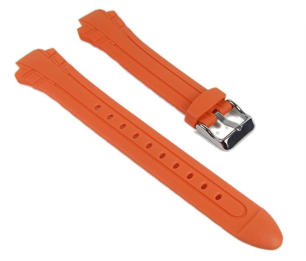 e6fb4530de0f Casio Correa de Reloj Resin Band Orange MTR-102-1A5VEF MTR-102  Amazon.es   Relojes