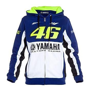 Yamaha VR46 Valentino Rossi - Sudadera para mujer chaqueta de tamaño L: Amazon.es: Coche y moto