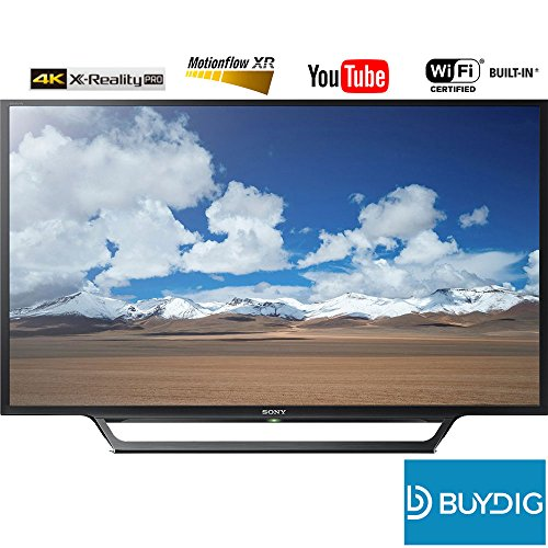 "Sony KDL-32W600D 32"" Class HD TV w/Built-in Wi-Fi + $10 BuyD"
