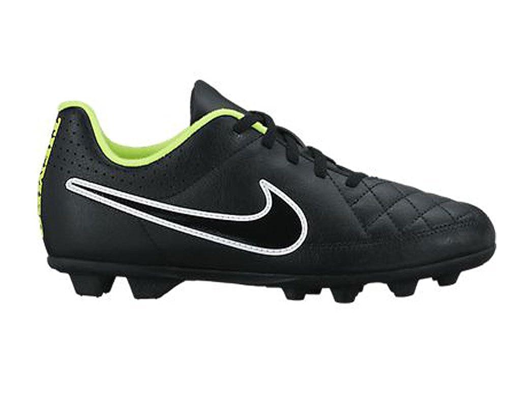 e37e4c5aeaba Nike Tiempo Rio II 2 FG Firm Ground Junior Football Boots (UK-4):  Amazon.co.uk: Shoes & Bags