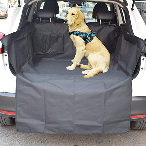 Flyingpets Dog Bed Liner - Dog Bed Liners - Dog Bed Liners Waterproof - Quilted Dog Cargo Cover for SUV, Universal Fit for Any Pet Animal. Durable Liner Covers and Protects Your Vehicle.