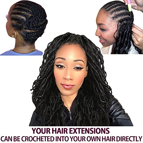 Amazon Com Fashion Idol 6 Bundles Of Synthetic Wavy Faux Locs