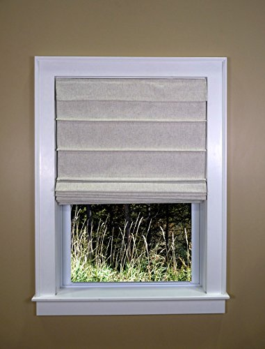 Green Mountain Vista 9600-034LI Roman Shade Small Linen ()
