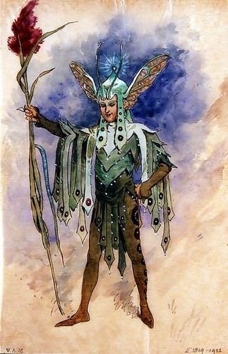 C. Wilhelm Peaseblossom, costume design for 'A Midsummer Night's Dream', ()