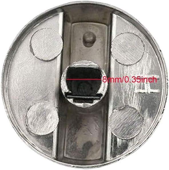 four et plaque de cuisson bouton de commande /& 5 adaptateurs Un universal pour aeg argent pour cuisinière