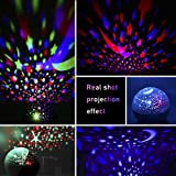 ANTEQI Star Projector Night Light for Kids