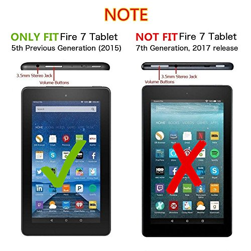 XR Touch Screen Glass Digitizer Replacement for Amazon Kindle Fire 7 5th 2015 SV98LN with Tools (NOT 7th Gen,2017 release) by XR (Image #1)