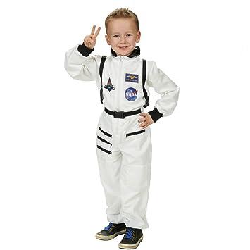 Astronauta Spaceman traje niños traje blanco para Carnaval ...