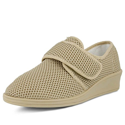 Flexus Womens Arnold Slip On Comfort Fashion Mocassini Beige