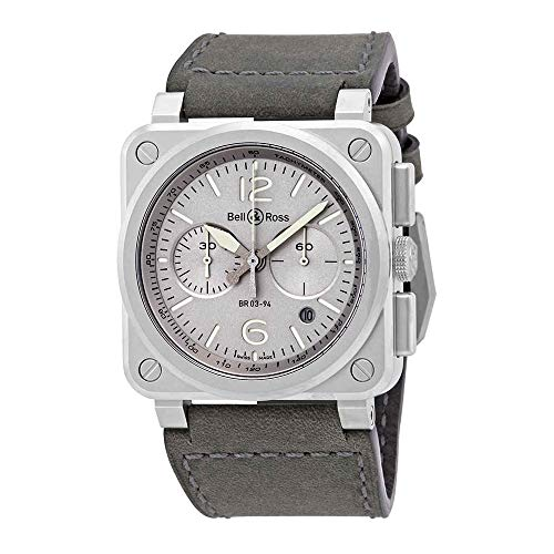 Bell and Ross Horlum Grey Dail Automatic Men's Chronograph Watch -