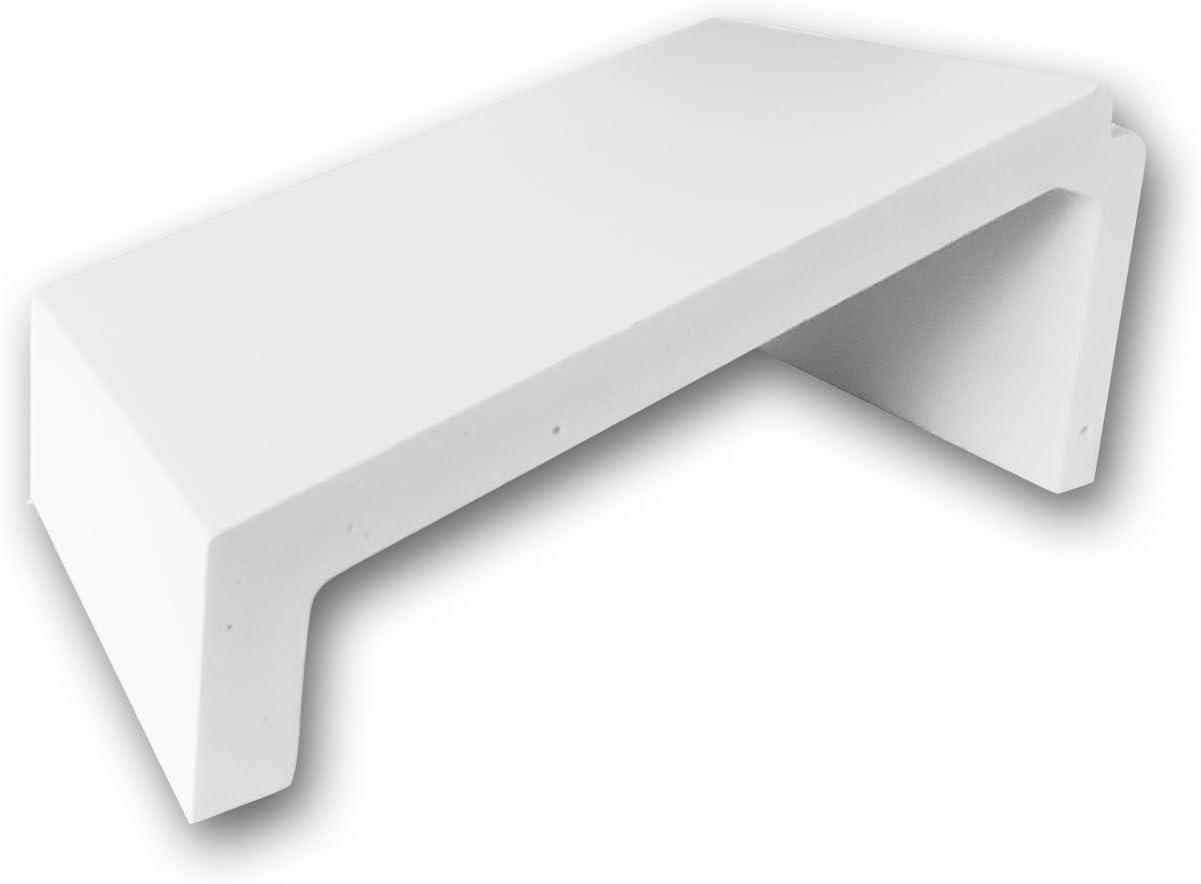 High Density Polyurethane Foam Crown Moulding 4in Sample Piece Orac Decor C344 Primed White