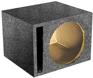 Q potencia Sencilla 10 en ventilado Unloaded Box -. SBASS10V