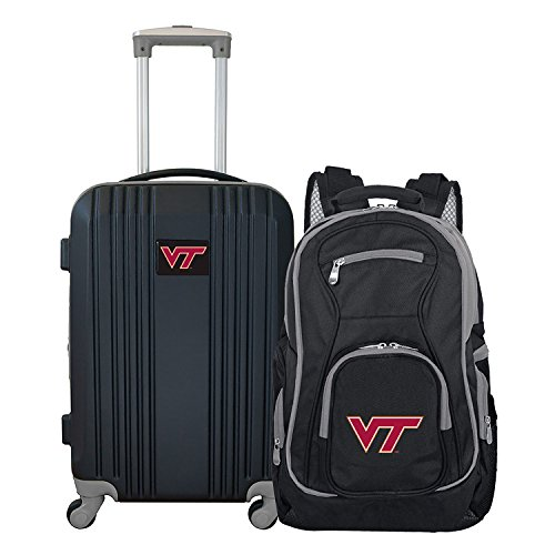 NCAA Virginia Tech Hokies 2-Piece Luggage Set