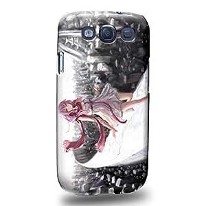 Case88 Premium Designs Guilty Crown GC Funeral Parlor Yuzuriha Inori 1198 Carcasa/Funda dura para el Samsung Galaxy S3