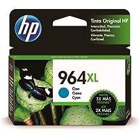 Cartucho HP 964 XL Ciano Original Alto Rendimiento (3JA54AL) Para HP OfficeJet Pro 9010, 9016, 9018, 9020