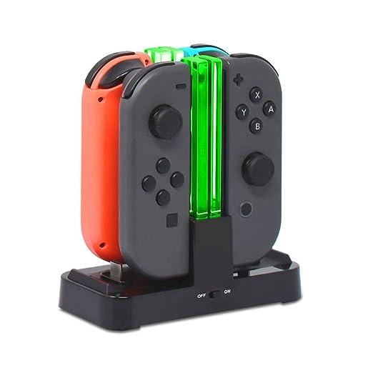 Base De Carga para Nintendo Switch, Estación De Cargador 6 ...